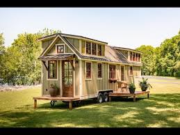 tiny cabin on wheels the ultimate tiny house on wheels youtube