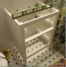 How To Install Bathroom Vanity by Bathroom Renovation Update How To Install An Ikea Hemnes Sink