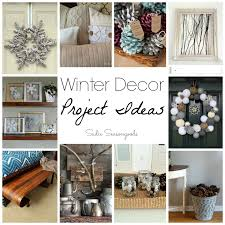 Repurposed and Upcycled Vintage Winter Decor Ideas