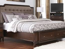 Bedroom Sets  Amazing King Size Bed Set With Upholstered - King size bedroom sets with padded headboard
