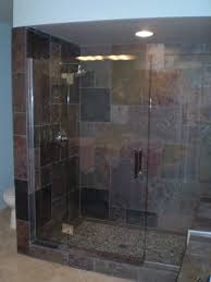 how do i clean soap scum from glass shower doors clean mordern glass shower doors with slate tile like the bench