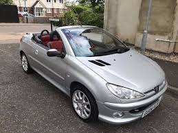 2004 peugeot 206 cc 2 0 allure 2dr a c convertible good car