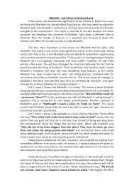 themes of macbeth act 2 scene 1 act 2 scene 2 analysis essay