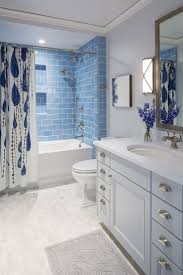 Blue And White Bathroom Ideas by Best 25 Blue Bathroom Tiles Ideas On Pinterest Blue Tiles
