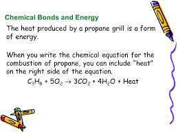 chemical bonds and energy
