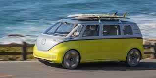 volkswagen old van drawing new volkswagen microbus vw to build new electric bus