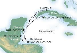 Havana On Map Havana Cruise