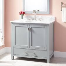 modero undermount sink vanity signature hardware