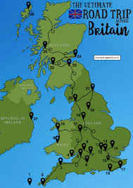 Map Of Kent England by The Ultimate Road Trip Map Of 26 Places To See Across Great