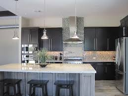 granite countertop decorating above kitchen cabinets for