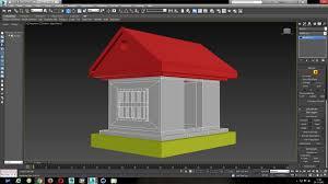 3ds max beginner simple house modeling tutorial youtube