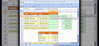 Sales Commission Excel Template How To Calculate Commissions With Excel S Vlookup Function