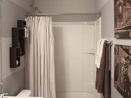 rustic shower curtains hanging shower curtains without rod