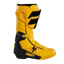 motocross gear boots 2018 shift mx whit3 label boots yellow dirtbikebitz