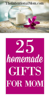 25 homemade gifts for mom