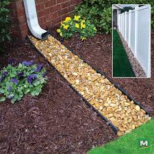 Fence Line Landscaping by Best 25 Gutter Drainage Ideas On Pinterest Downspout Ideas