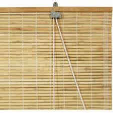 Burnt Bamboo Roll Up Blinds by Burnt Bamboo Roll Up Blinds Honey Walmart Com
