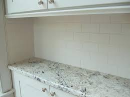 How To Tile Kitchen Backsplash Large Subway Tile Backsplash Kitchen Fabulous Glass Kitchen Wall