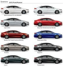 2015 ford fusion colors 2018 2019 car release and reviews