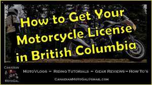 how to get your motorcycle license in british columbia class 6