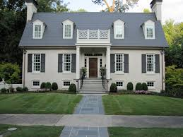 House Exterior Colors Painted Brick Houses Beautiful Home What Curb Appeal The House