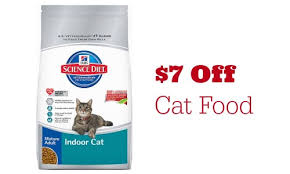 7 off hill u0027s science diet cat food coupon southern savers