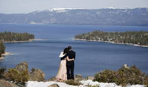 lake tahoe wedding venues top 5 lakefront wedding spots in tahoe tahoe south