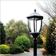 Outdoor Solar Post Light Fixtures Ideas Lowes L Post And Outdoor Post Lights Outdoor Fence For