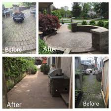 diy landscaping before and after articlespagemachinecom