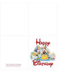 birthday card free popular disney birthday card printable