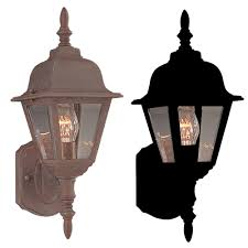Outdoor Light Fixture With Outlet by Maxim 3005cl Builder Cast 16 5