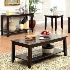 3 piece end table set coffee table and end tables furniture of mosaic insert 3 piece