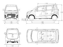 mazdamotors mazda az wagon blueprint micro tiny city car motocoupé