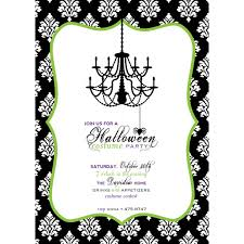 design lovely halloween birthday party invitations free