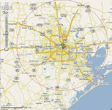 map of houston area introduction of greater houston area