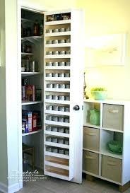 Cabinet Door Mounted Spice Rack How To Make Spice Racks For Kitchen Cabinets Spice Rack And