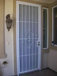 Patio Door Gate Security For Entry Doorssecurity Screen Doors Patio Arcadia