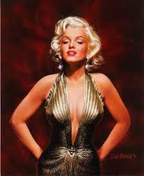 Marilyn Monroe Art Saatchi Art Marilyn Monroe Painting By Bobnick