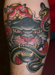3d tiger and snake meaning design idea for and