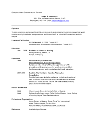 Recent Graduate Resume Examples Emt Resumes Best Free Resume Collection