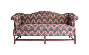 Chippendale Loveseat Chippendale Camel Back Sofa Janney U0027s Collection