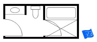Smallest Bathroom Floor Plan Startling Small Bathroom Floor Plans 5 Home Act