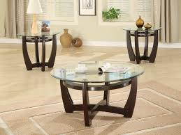 glass coffee table with wood base round glass coffee table wood base round table furniture round round