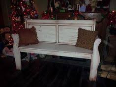 Bench Made From Bed Headboard Old Sleigh Bed Turned Into A Bench Diy Pinterest Sleigh Beds