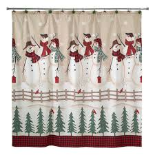 Heritage Lace Shower Curtains by Christmas Shower Curtain Clearance Holiday Shower Curtain And
