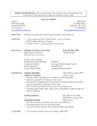 College Student Internship Resume Interesting Nurse Intern Resume Examples About Sample Nursing