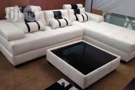 exquisite l shape sofa with center table for sale in abuja buy