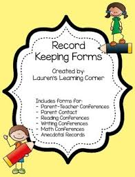 record keeping and conference forms