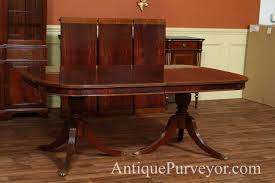 Mahogany Dining Room Table With Leaves Seats  People - Mahogany dining room sets