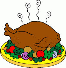 thanksgiving dinner table clipart clip library
